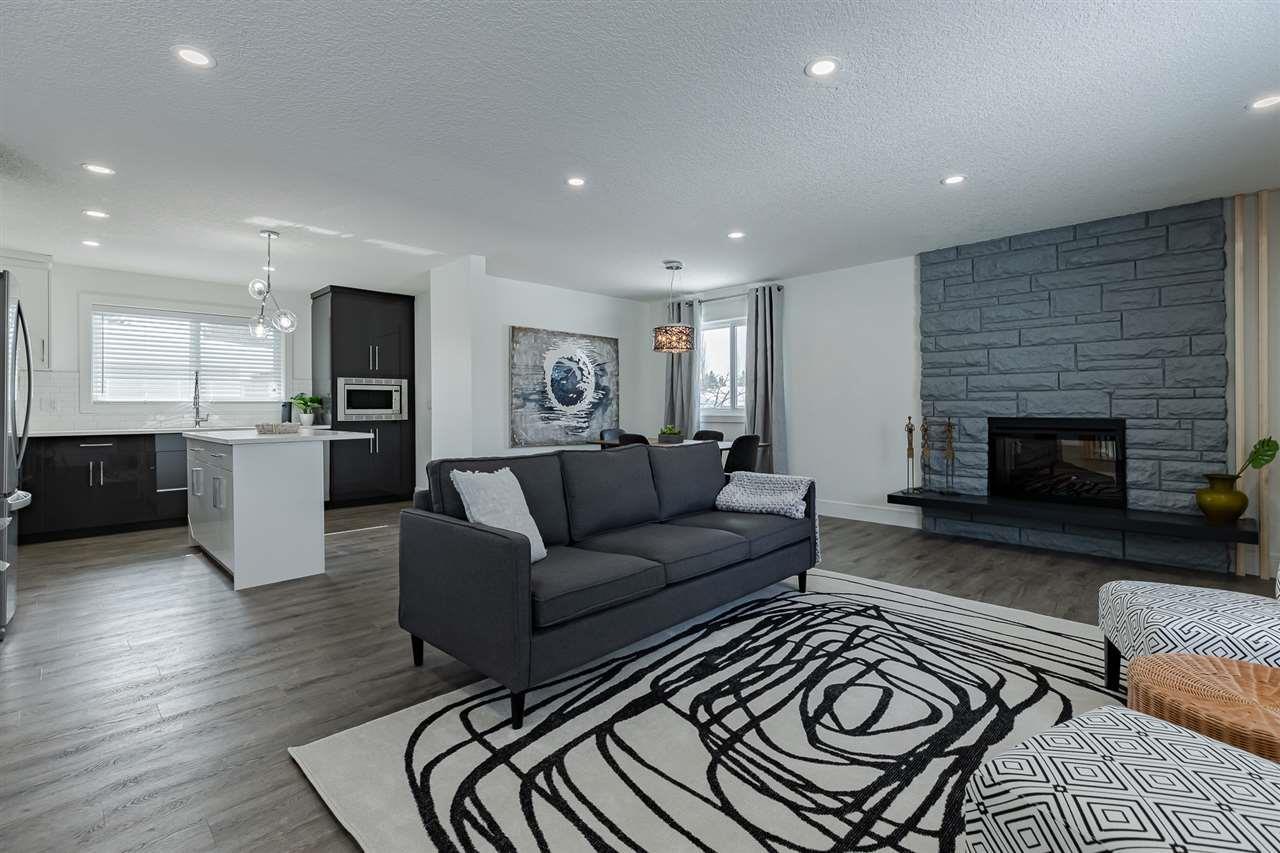 Great Room /  Kitchen /  Dining / LV Plank Flooring / Design