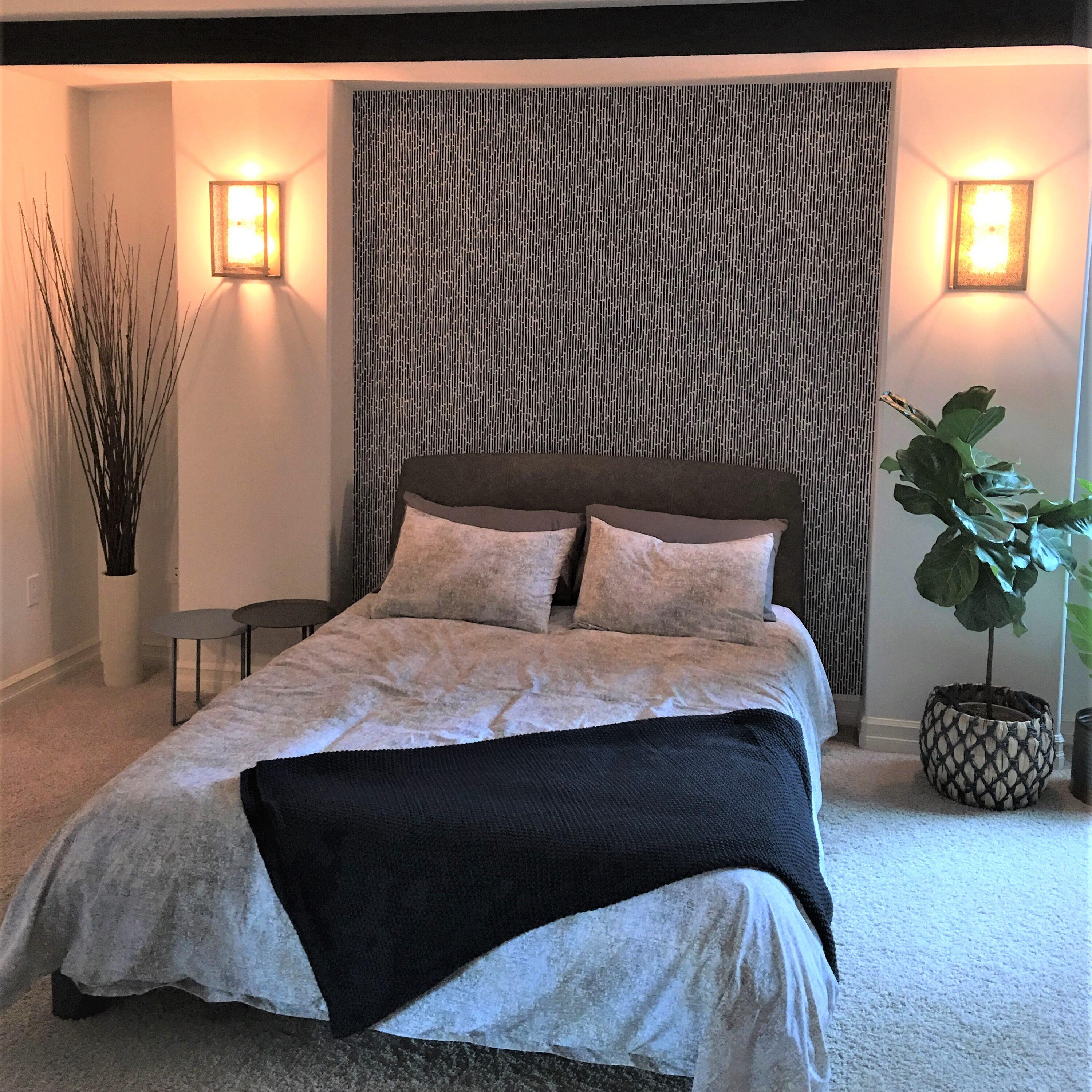 Bedroom / Textiles / Wallpaper / Decor